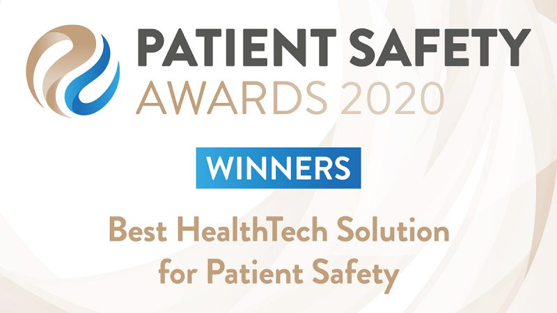 Winners - Best HealthTech Solution - large